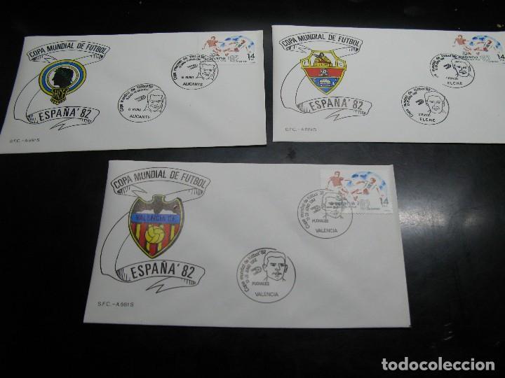 Sellos: España 82 sobres de las ciudades sedes - Foto 4 - 121367259