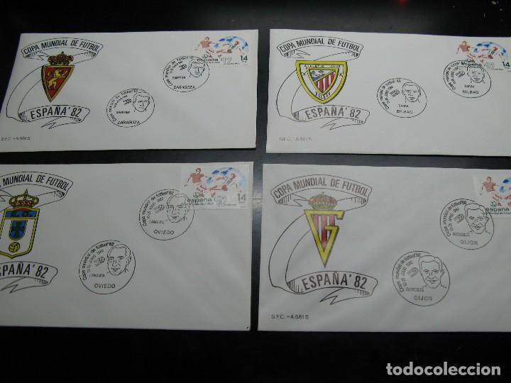Sellos: España 82 sobres de las ciudades sedes - Foto 5 - 121367259