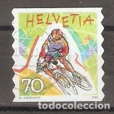 Timbres: SUIZA.1998. YT 1588. DEPORTES. Lote 123031527