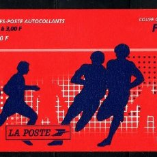 Sellos: SELLOS DEPORTES FUTBOL. FRANCIA 1998 COPA DEL MUNDO C-3139 CARNET1V.. Lote 127933063