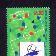 Sellos: SELLOS DEPORTES FUTBOL. FRANCIA 1998 COPA DEL MUNDO 2985 1V.. Lote 127933683