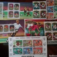 Briefmarken - HB+Sellos Corea Norte mtdos (DPRK). 1981/Campeonato mundial futbol/España,82/Naranjito/Selecciones/B - 132106638