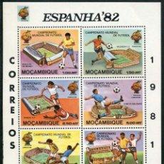Sellos: MOZAMBIQUE - CAMPEONATO MUNDIAL DE FUTBOL / ESPAÑA 1982 (1981) **. Lote 136774358