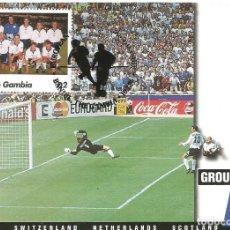 Sellos: TARJETA MAXIMA CAMPEONATO DE EUROPA 1996 INGLATERRA SUIZA. Lote 143132428