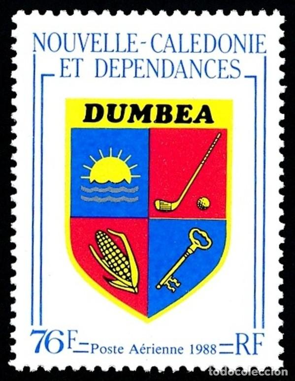 NUEVA CALEDONIA 1988 - DEPORTES - GOLF - YVERT AEREO Nº 257** (Sellos - Temáticas - Deportes)