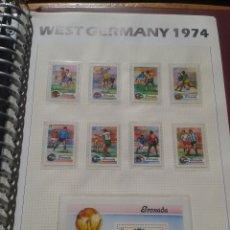 Sellos: GRENADA 1974 HOJA BLOQUE + SELLOS CONMEMORATIVOS DE LA COPA MUNDIAL DE FUTBOL ALEMANIA 74- FIFA . Lote 140387246