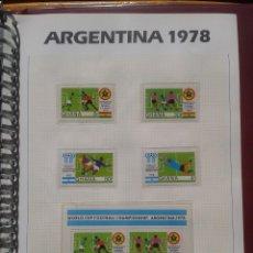 Sellos: GHANA 1978 HOJA BLOQUE + SELLOS CONMEMORATIVOS DE LA COPA MUNDIAL DE FUTBOL ARGENTINA 78- FIFA. Lote 140392134