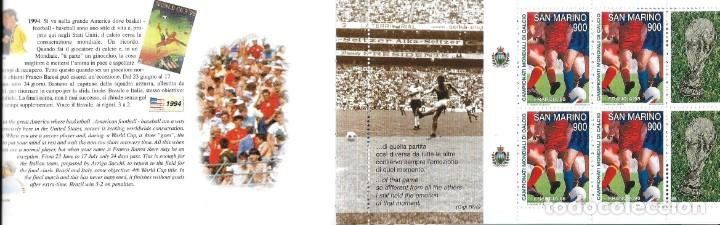 Sellos: SAN MARINO, FUTBOL- I CAMPEONATO MUNDIAL DE CALCIO - Foto 5 - 140714626