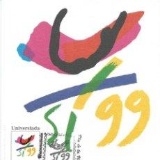 Sellos: 1999. SPAIN. MÁXIMA/MAXIMUM CARD. UNIVERSIADA PALMA. UNIVERSITY GAMES.. Lote 144484818