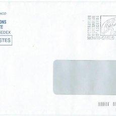 Sellos: 1998. MONACO. MATASELLOS/POSTMARK. TORNEO INT. DE ESGRIMA. FENCING. DEPORTES/SPORTS. SOBRE CIRCULADO. Lote 146611106