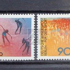 Sellos: ALEMANIA BERLÍN 1981 ** NUEVO ** MNH ** DEPORTE. Lote 147429238