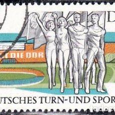 Sellos: 1969 - ALEMANIA - DDR - JUEGOS DEPORTIVOS - LEIPZIG - YVERT 1181. Lote 147432286