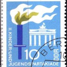 Sellos: 1968 - ALEMANIA - DDR - JUEGOS DEPORTIVOS ESPARTAKIADA - BERLIN - YVERT 1073. Lote 147435970