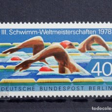 Sellos: ALEMANIA BERLÍN 1978 ** NUEVO ** MNH ** CAMPEONATO MUNDIAL DE NATACIÓN. Lote 147438722