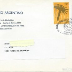 Sellos: 2006. ARGENTINA. MATASELLOS/POSTMARK. 75 ANIV. UNION CORDOBESA RUGBY. DEPORTES/SPORTS. PERROS/DOGS.. Lote 147553950