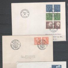 Sellos: R/19235, LOTE DE 3 SOBRES DE -SUECIA-, TODOS DIFERENTES, EN BUEN ESTADO. Lote 148188653