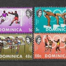 Sellos: DOMINICA 1968 SC 233-236 (4) 2.35 ** MNH - 7/16. Lote 148621042