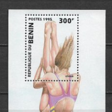 Sellos: BENIN 1996 ** MNH ATLANTA - 118. Lote 151472897