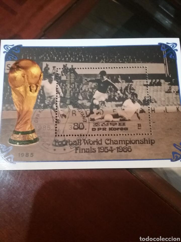 SELLOS COREA NORTE MTDA (DPKR)/1985/CAMPEONATO MUNDIAL FUTBOL. HOSTORIA. FINALES/SELECCIONES/DEPORTE (Briefmarken - Thematische - Sport)