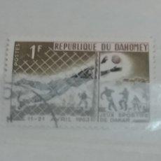 Timbres: SELLOS REINO DAHOMEY (BENIN) MTDOS/1963/JUEGOS DEPORTIVOS DE AMISTAD/FUTBOL/DEPORTE/BOXEO/CARRERAS/A. Lote 153722794