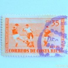Sellos: SELLO POSTAL COSTA RICA 1960, 35 C ,III JUEGOS PANAMERICANOS DE FUTBOL, USADO. Lote 154738566