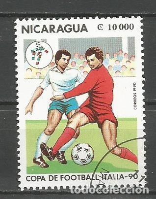 Sellos: NICARAGUA - AÑO 1990 - CAMPEONATO DEL MUNDO DE FÚTBOL DE ITALIA - COMPLETA - Foto 8 - 155321538
