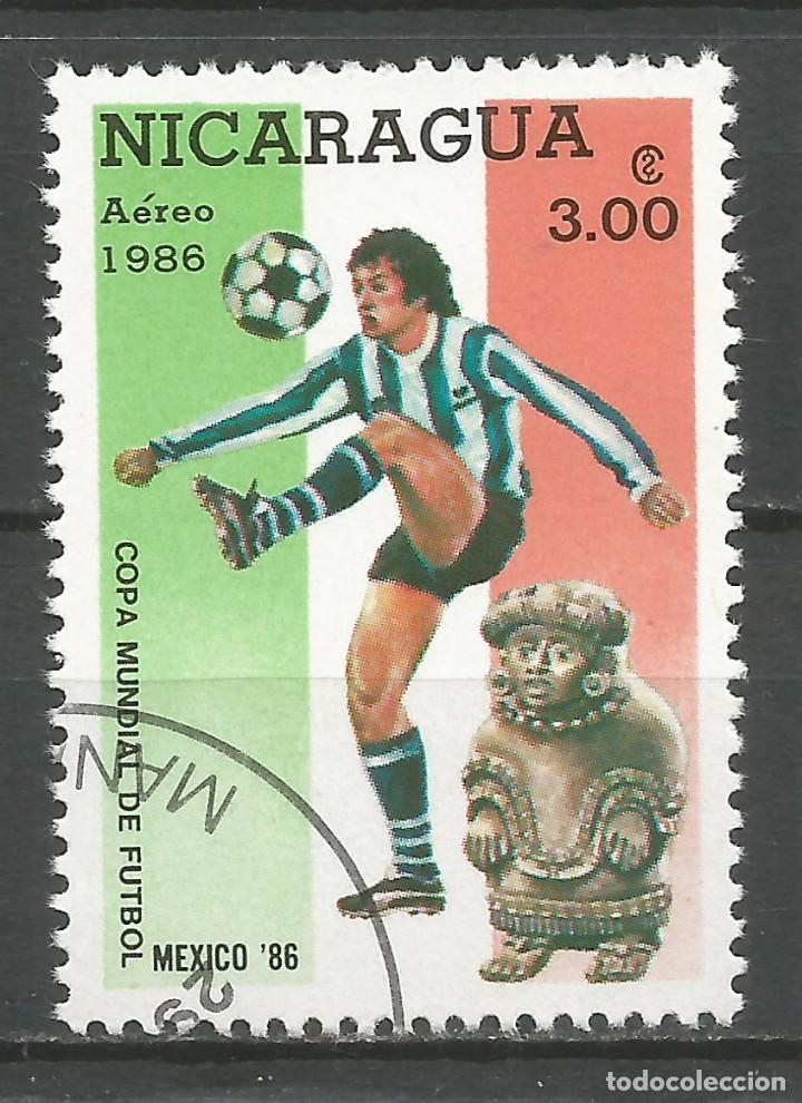 Sellos: NICARAGUA - AÑO 1986 - CAMPEONATO DEL MUNDO DE FÚTBOL DE MÉXICO - COMPLETA - Foto 4 - 155321750