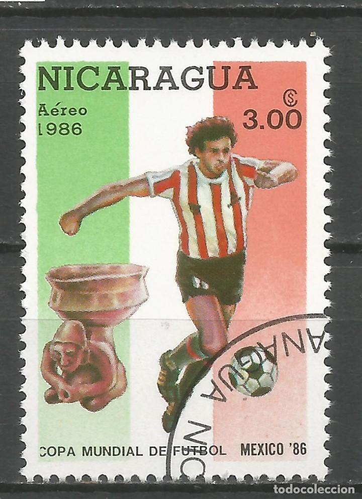 Sellos: NICARAGUA - AÑO 1986 - CAMPEONATO DEL MUNDO DE FÚTBOL DE MÉXICO - COMPLETA - Foto 5 - 155321750