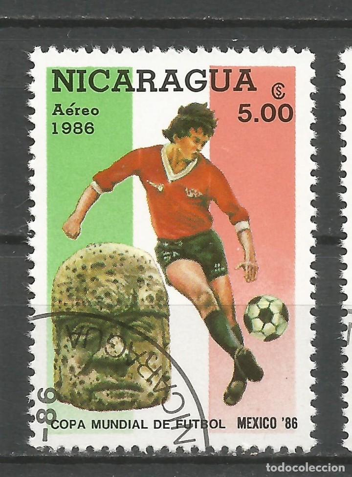 Sellos: NICARAGUA - AÑO 1986 - CAMPEONATO DEL MUNDO DE FÚTBOL DE MÉXICO - COMPLETA - Foto 6 - 155321750