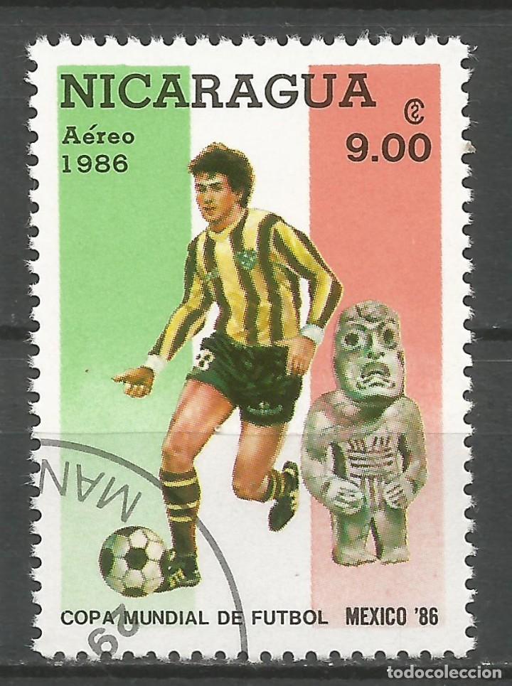 Sellos: NICARAGUA - AÑO 1986 - CAMPEONATO DEL MUNDO DE FÚTBOL DE MÉXICO - COMPLETA - Foto 7 - 155321750