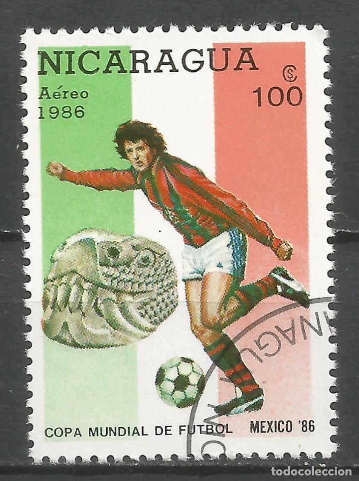 Sellos: NICARAGUA - AÑO 1986 - CAMPEONATO DEL MUNDO DE FÚTBOL DE MÉXICO - COMPLETA - Foto 8 - 155321750