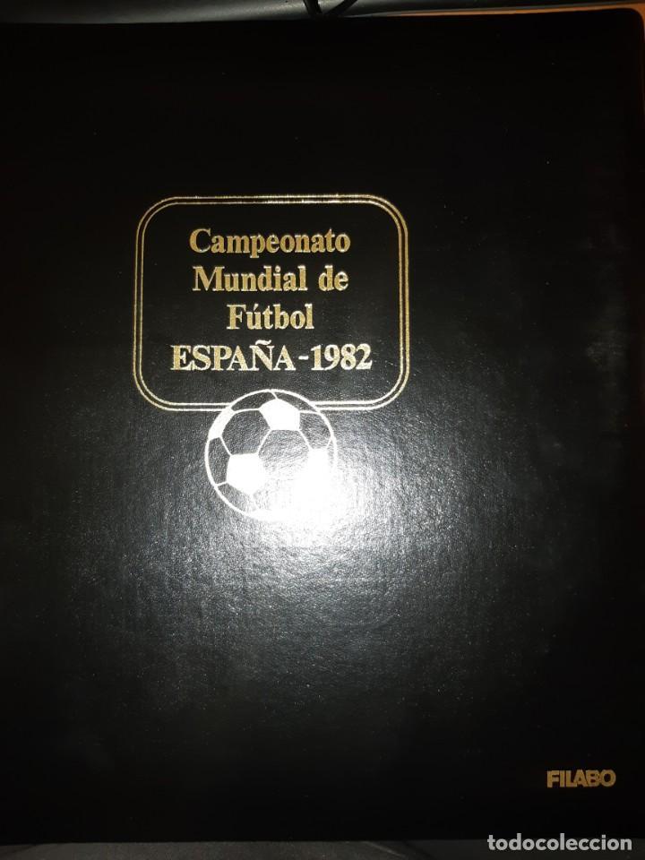 Sellos: ÁLBUM MUNDIAL DE FÚTBOL ESPAÑA 82.SEDES OFICIALES. - Foto 2 - 155712938