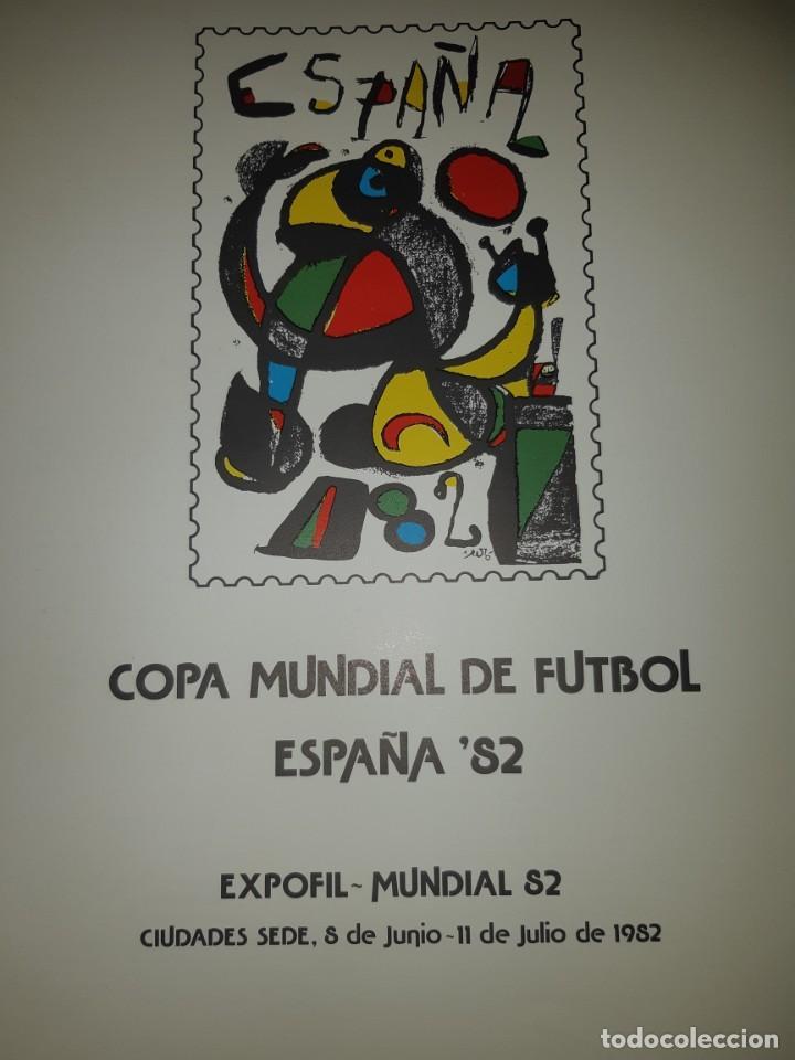 Sellos: ÁLBUM MUNDIAL DE FÚTBOL ESPAÑA 82.SEDES OFICIALES. - Foto 3 - 155712938
