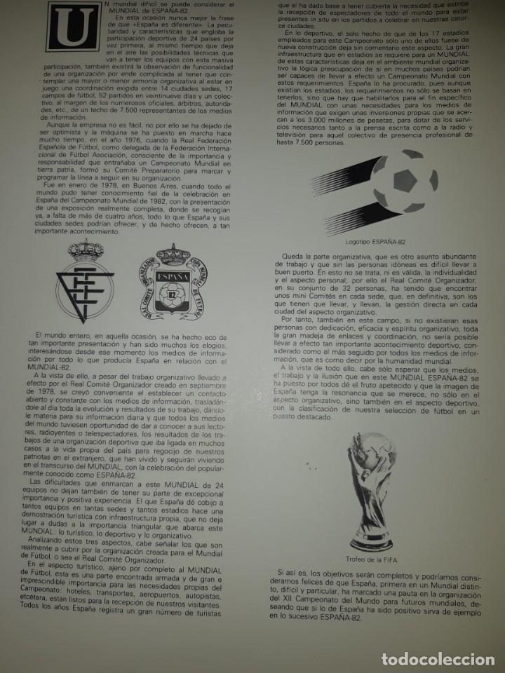 Sellos: ÁLBUM MUNDIAL DE FÚTBOL ESPAÑA 82.SEDES OFICIALES. - Foto 5 - 155712938