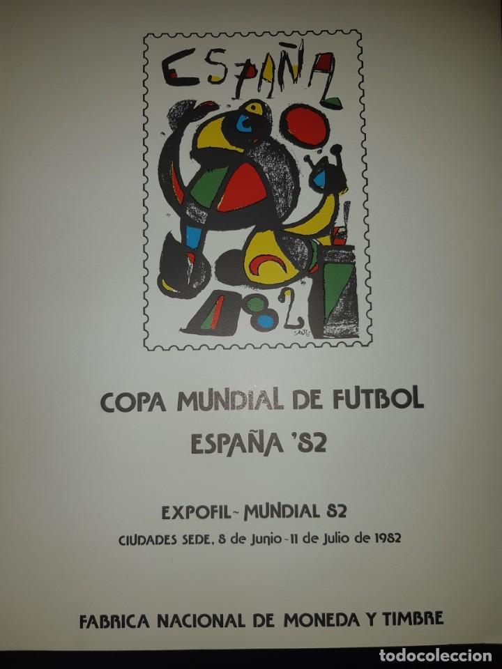 Sellos: ÁLBUM MUNDIAL DE FÚTBOL ESPAÑA 82.SEDES OFICIALES. - Foto 7 - 155712938
