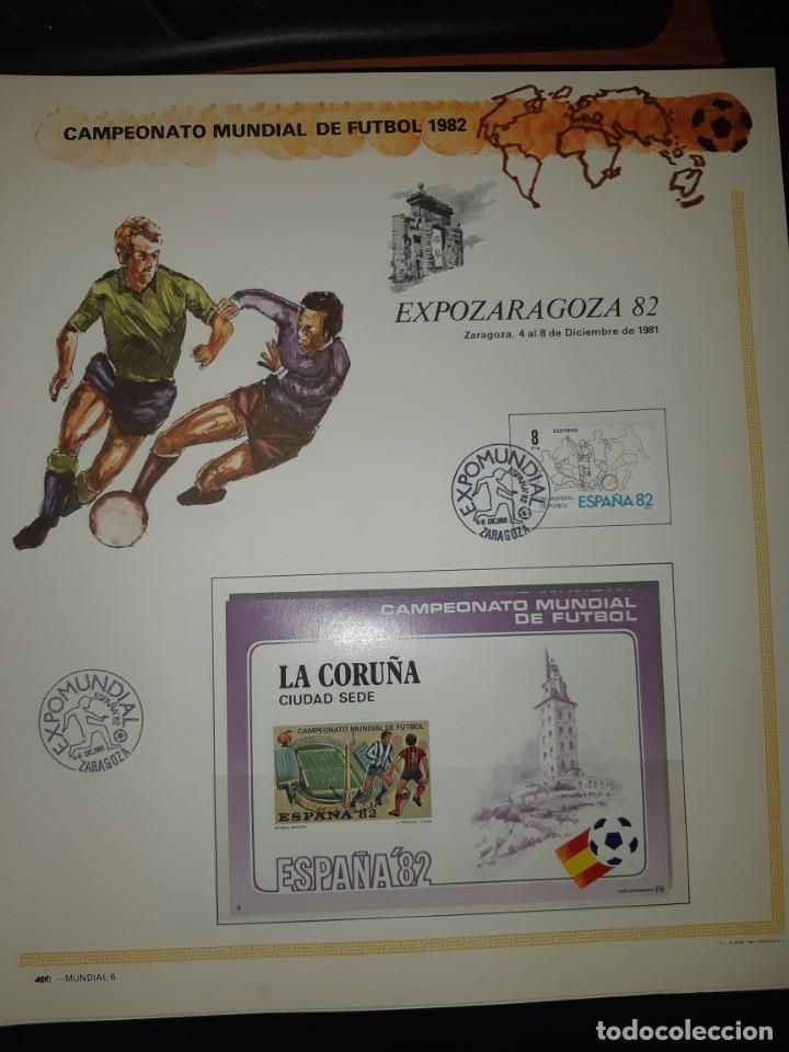 Sellos: ÁLBUM MUNDIAL DE FÚTBOL ESPAÑA 82.SEDES OFICIALES. - Foto 22 - 155712938