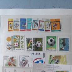 Sellos: SELLOS POLONIA FÚTBOL MUNDIALES FIFA MNH USADOS. Lote 158477940