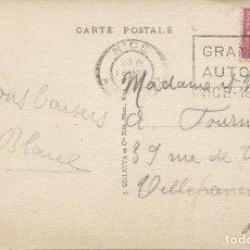 Sellos: 1935. FRANCIA/FRANCE. RODILLO/SLOGAN. NIZA, GRAND PRIX. AUTOMOVILISMO/AUTO RACING. DEPORTES/SPORTS.. Lote 163374090