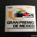 Sellos: AUTOMOVILISMO. MEXICO Nº YVERT 1205*** AÑO 1987. GRAN PREMIO DE MEXICO DE F-1. Lote 165410750