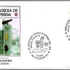 Sellos: MATASELLOS LA TRAGEDIA DE SUPERGA - TORINO F.C. - FUTBOL. CRESCENTINO, ITALIA, 2019. Lote 168100128