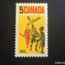 Sellos: CANADA Nº YVERT 404*** AÑO 1968 JUEGO DE LACROSSE. Lote 168642924