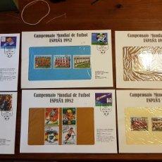 Sellos: SELLOS CUBA CAMPEONATO MUNDIAL DE FUTBOL ESPAÑA 1982. Lote 171393329