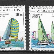 Timbres: GRANADINA DE SAN VICENTE Nº 155 AL 158 (**). Lote 172878494