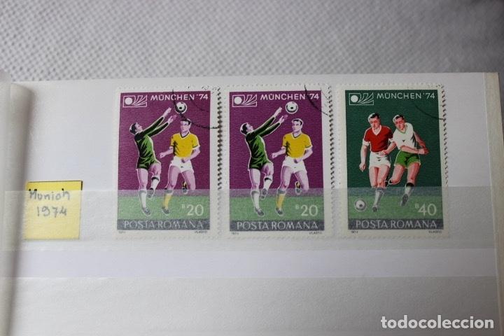 Sellos: Lote 9 sellos campeonatos mundiales de futbol, Alemania, Argentina, Mexico y EEUU - Foto 4 - 173297838