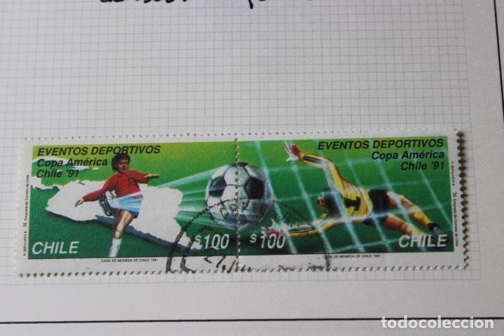 LOTE 10 SELLOS VARIOS PAÍSES CON TEMÁTICA FUTBOL (Sellos - Temáticas - Deportes)