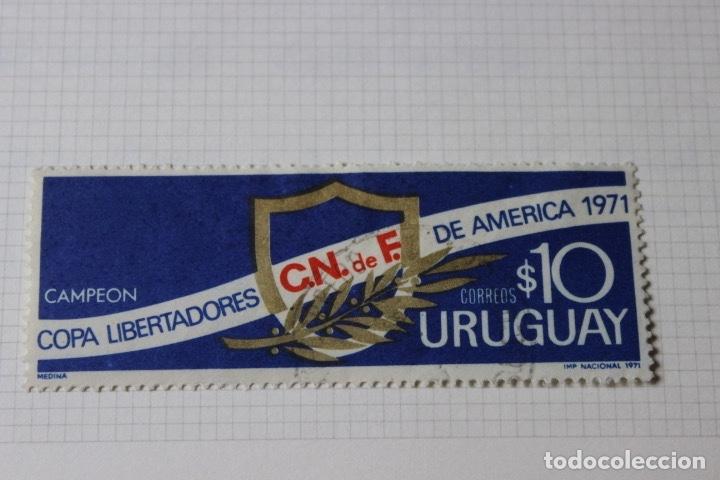 Sellos: Lote 10 sellos varios países con temática futbol - Foto 2 - 173395509