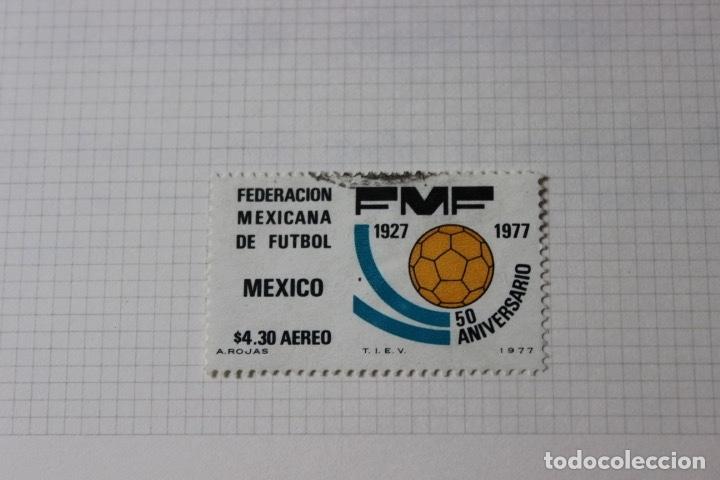 Sellos: Lote 10 sellos varios países con temática futbol - Foto 4 - 173395509