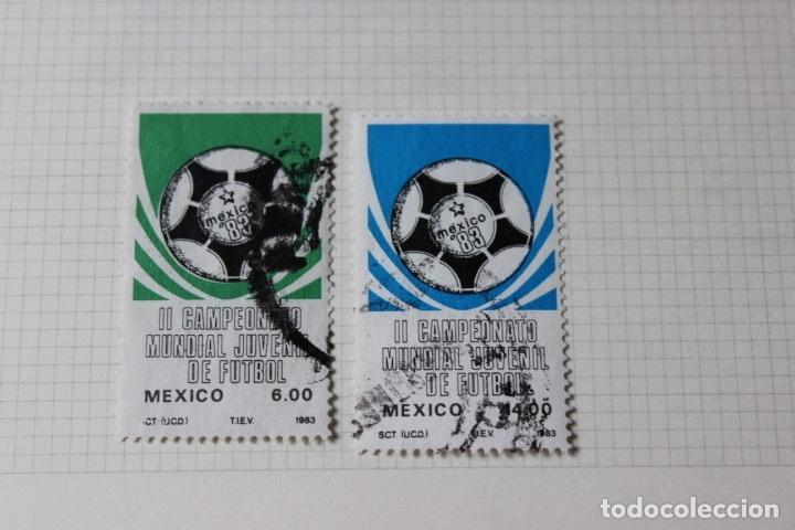 Sellos: Lote 10 sellos varios países con temática futbol - Foto 5 - 173395509
