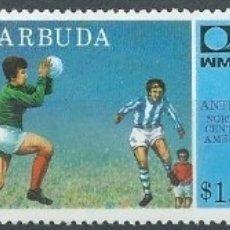 Sellos: 1974. BARBUDA. YVERT 165/7** MNH. COPA DEL MUNDO DE FÚTBOL ALEMANIA'74. FOOTBALL WORLD CUP.. Lote 176240860