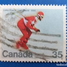 Sellos: SELLO DE CANADÁ. AÑO 1980. DEPORTES. ESQUÍ.. Lote 180503401